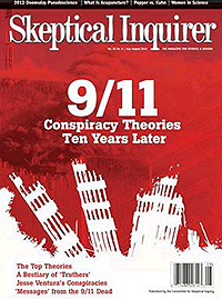 Skeptical Inquirer 9/11 Conspiracy Theories cover
