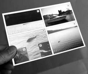 postcard showing Loch Ness Monster
