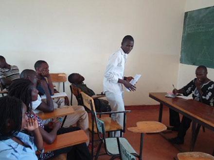 George Ongere speaks to Maseno Freethinkers