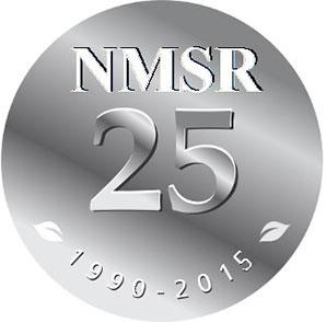 Medallion image: NSMR 25: 1990 - 2015