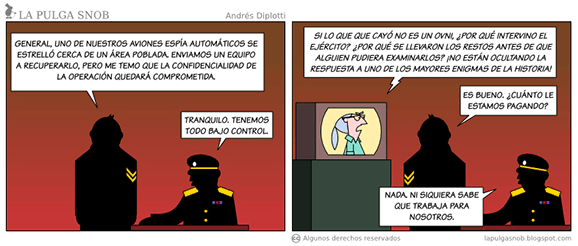 Comic by the argentinian skeptic Andrés Diplotti