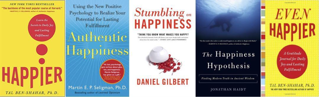 Happiness Book Covers