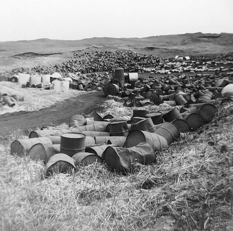 Barrels at Love Canal