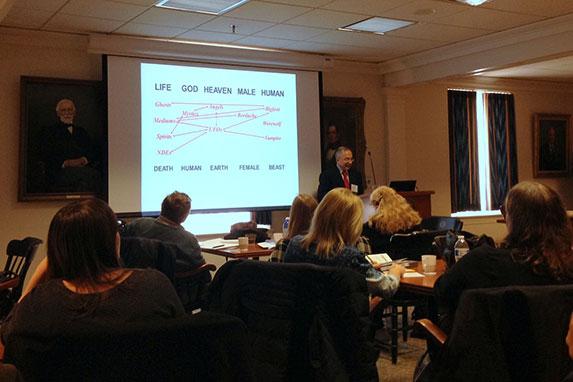 Hansen's presentation on the Liminal Structure