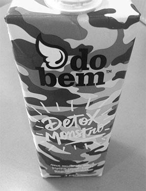 drink container: do bem Detox Monstro