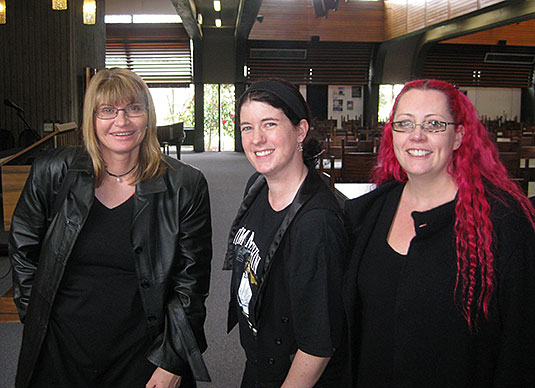 Michelle Coffey, Kylie Sturgess, and Siouxsie Wiles