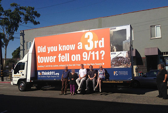9/11 truther truck ad