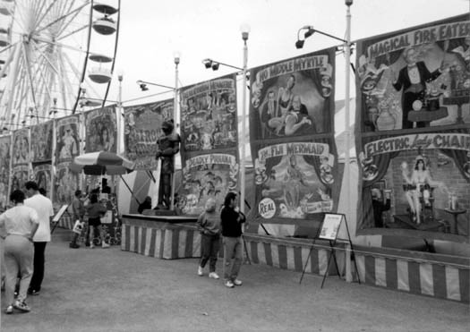 Sideshow! Carnival Oddities and Illusions Provide Lessons