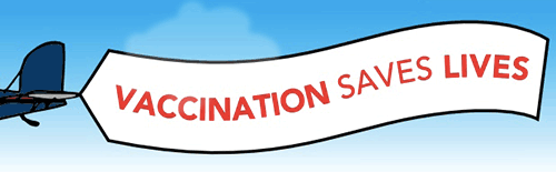 VACCINES SAVE LIVES banner