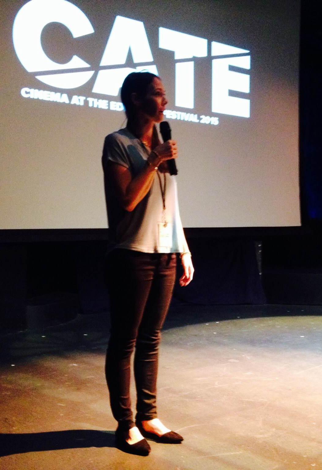 Filmmaker Meryl Goldsmith at Cinema at the Edge Festival