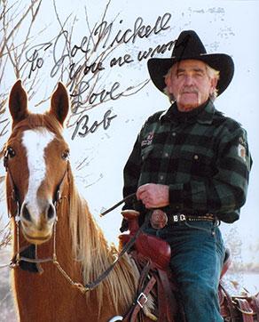 Photo of Bob Gimlin with the message: To Joe Nickell You are Wrong. Love Bob.